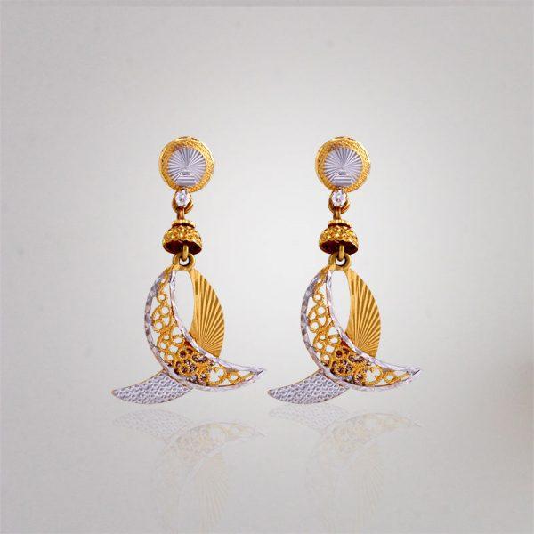 Akshaya Gold Earring GL10116