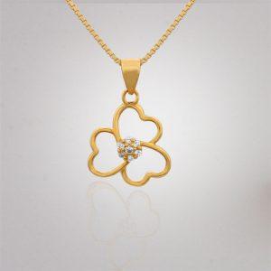 Akshaya Gold Pendant GL10501