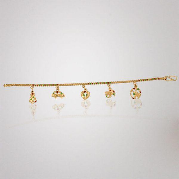 Akshaya Gold Bracelet GL10801
