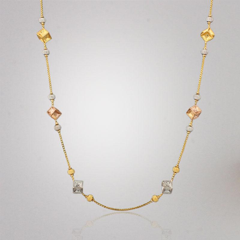 Akshaya Gold Necklace GL10204