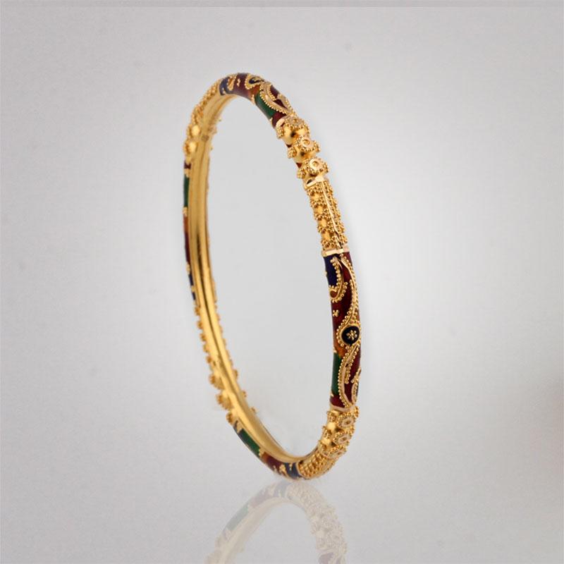 Akshaya Gold Pendant GL10513