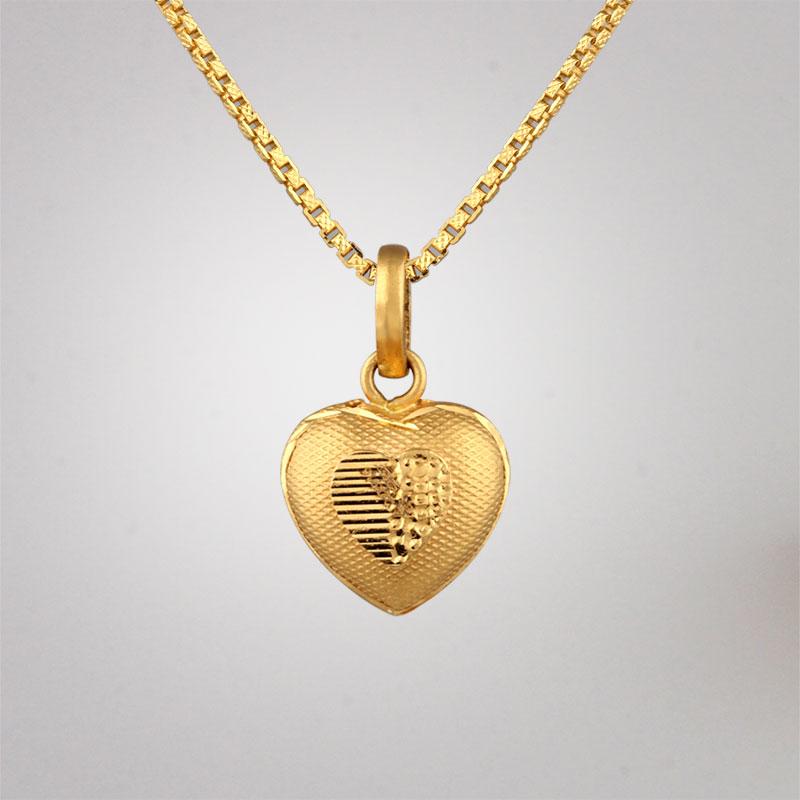Akshaya Gold Pendant GL10506