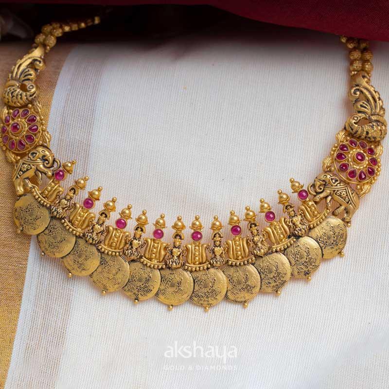 Akshaya Gold Necklace GL10218
