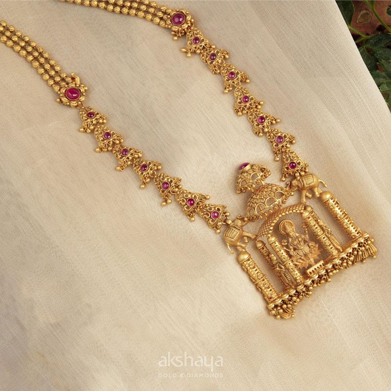 Akshaya Gold Necklace GL10224