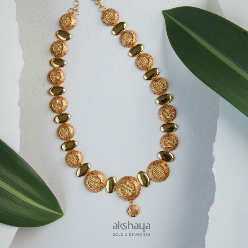 Akshaya Gold Necklace GL10225