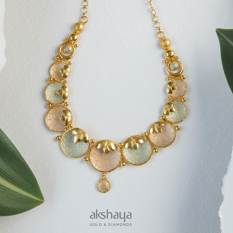Akshaya Gold Necklace GL10227