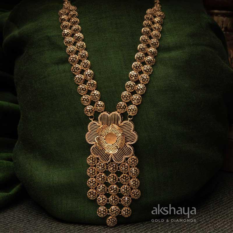 Akshaya Gold Necklace GL10219