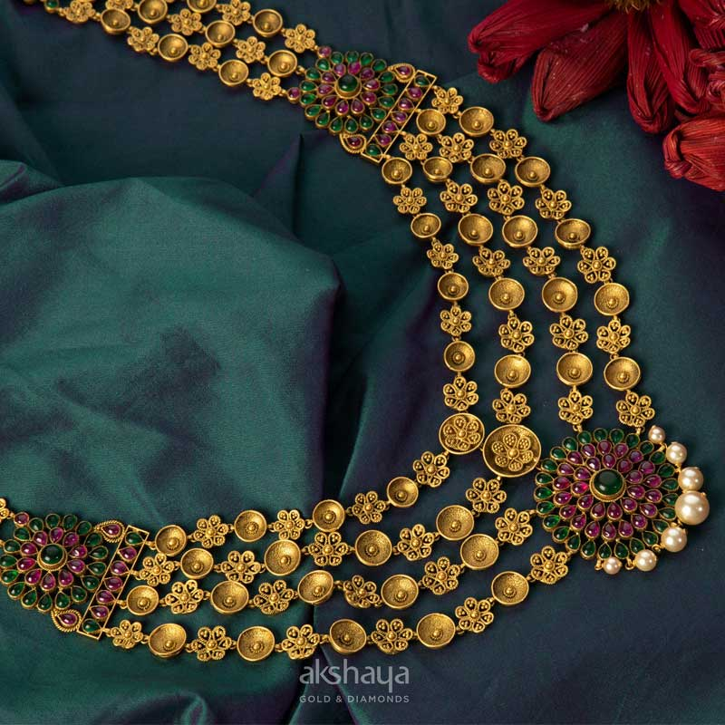 Akshaya Gold Necklace GL10220