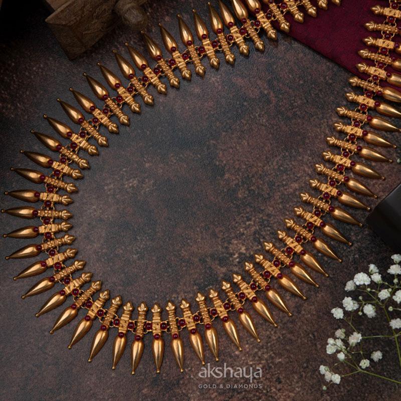 Akshaya Gold Necklace GL10229