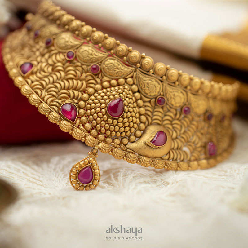 Akshaya Gold Necklace GL10230