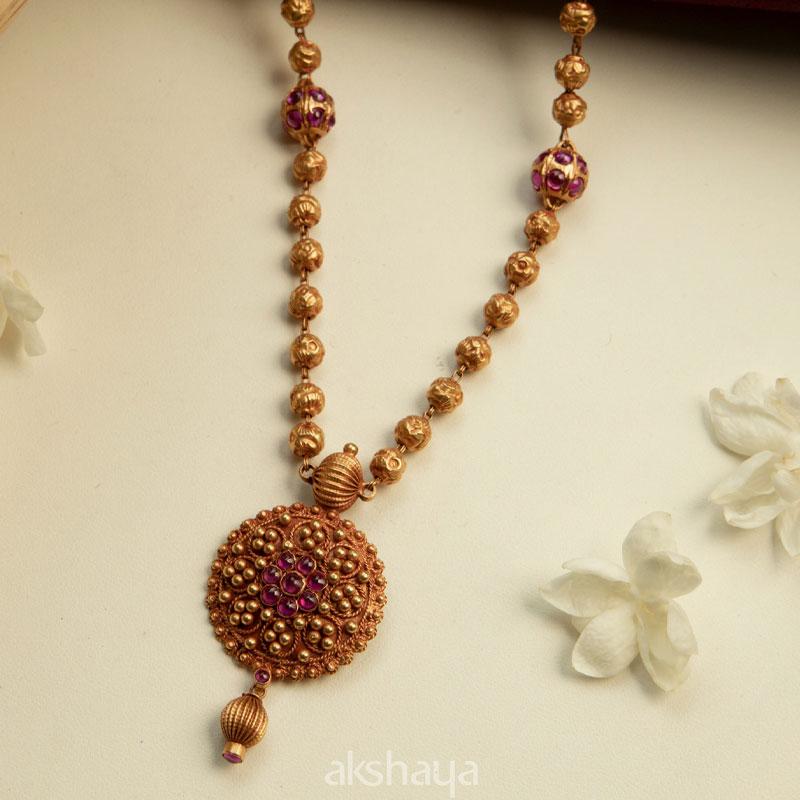 Akshaya Gold Necklace GL10239