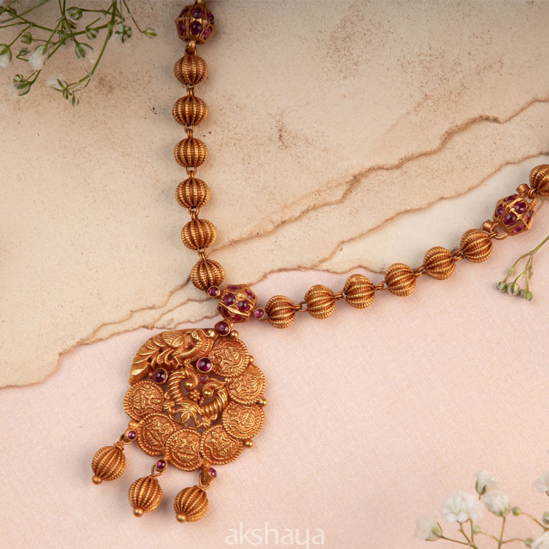 Akshaya Gold Necklace GL10242