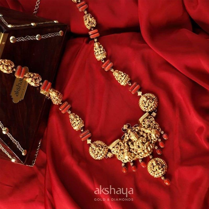 Akshaya Gold Necklace GL10245
