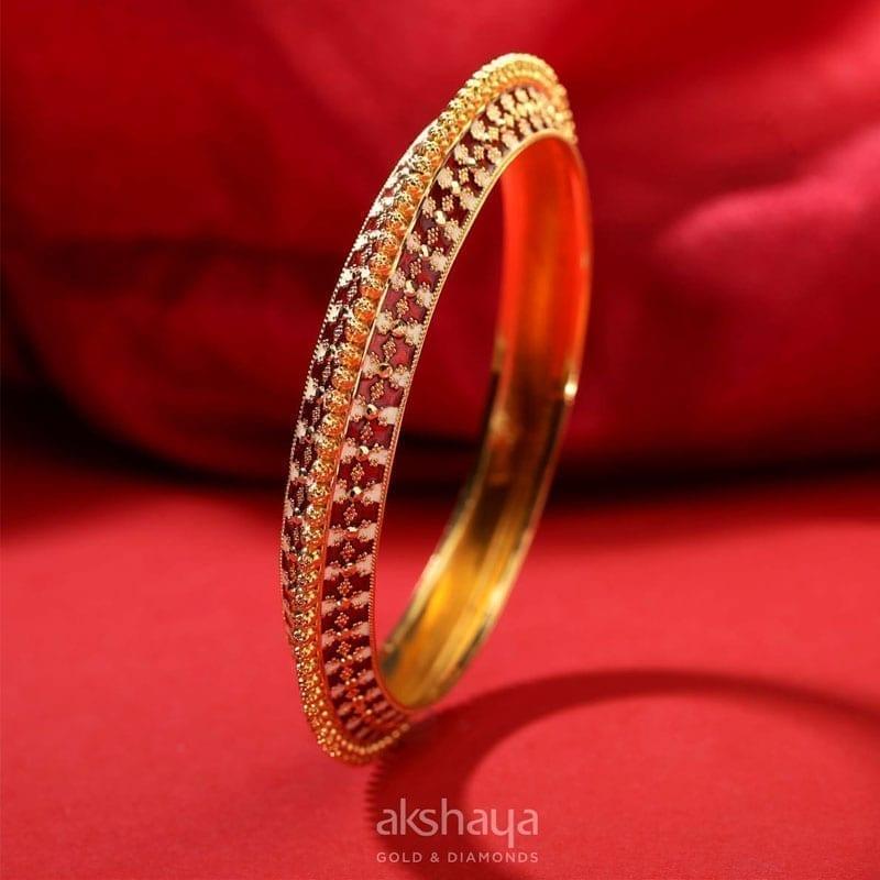 Akshaya Gold Bangle GL10322