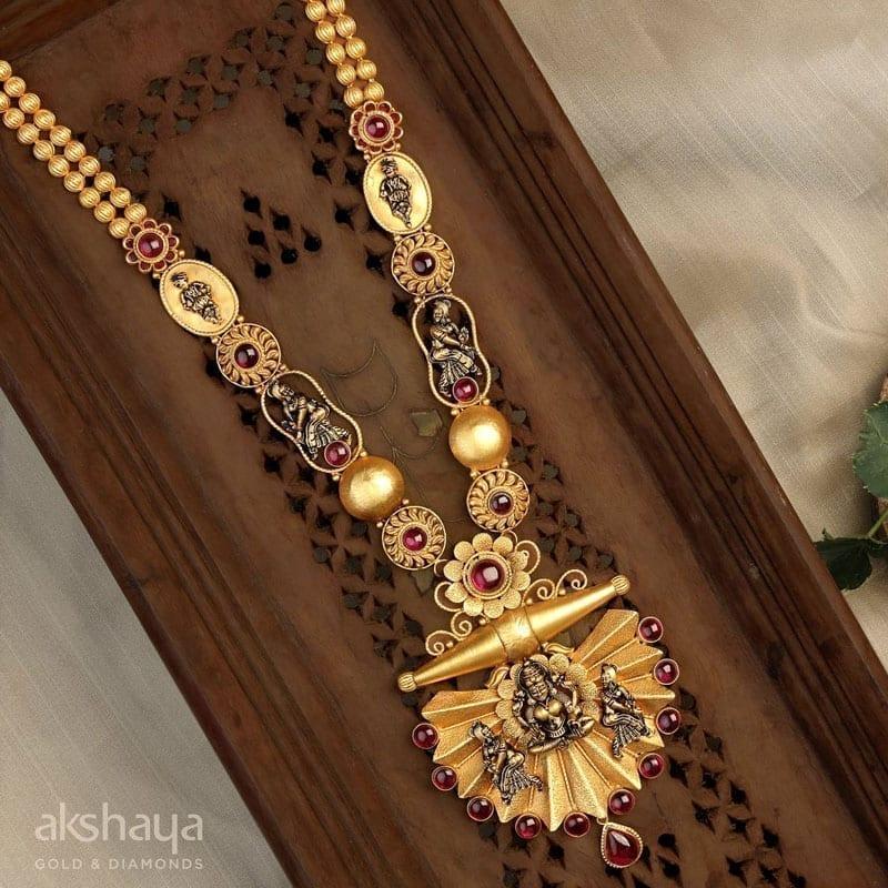 Akshaya Gold Earring GL10130
