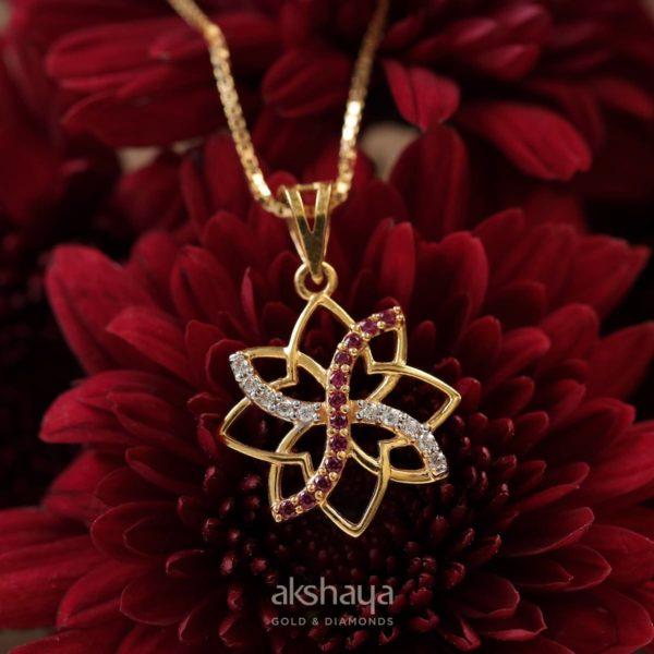 Akshaya Gold Pendant GL10516