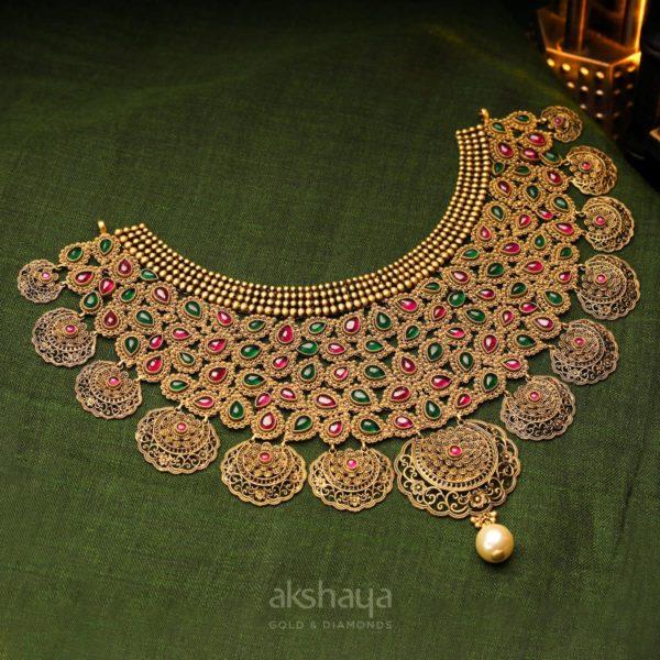 Akshaya Gold Necklace GL10247