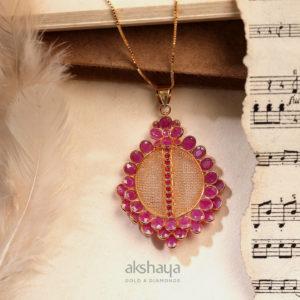 Akshaya Gold Pendant GL10518