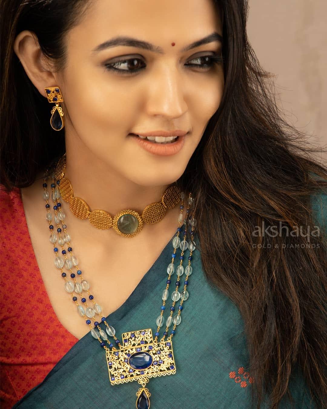 Akshaya Gold Necklace GL10252