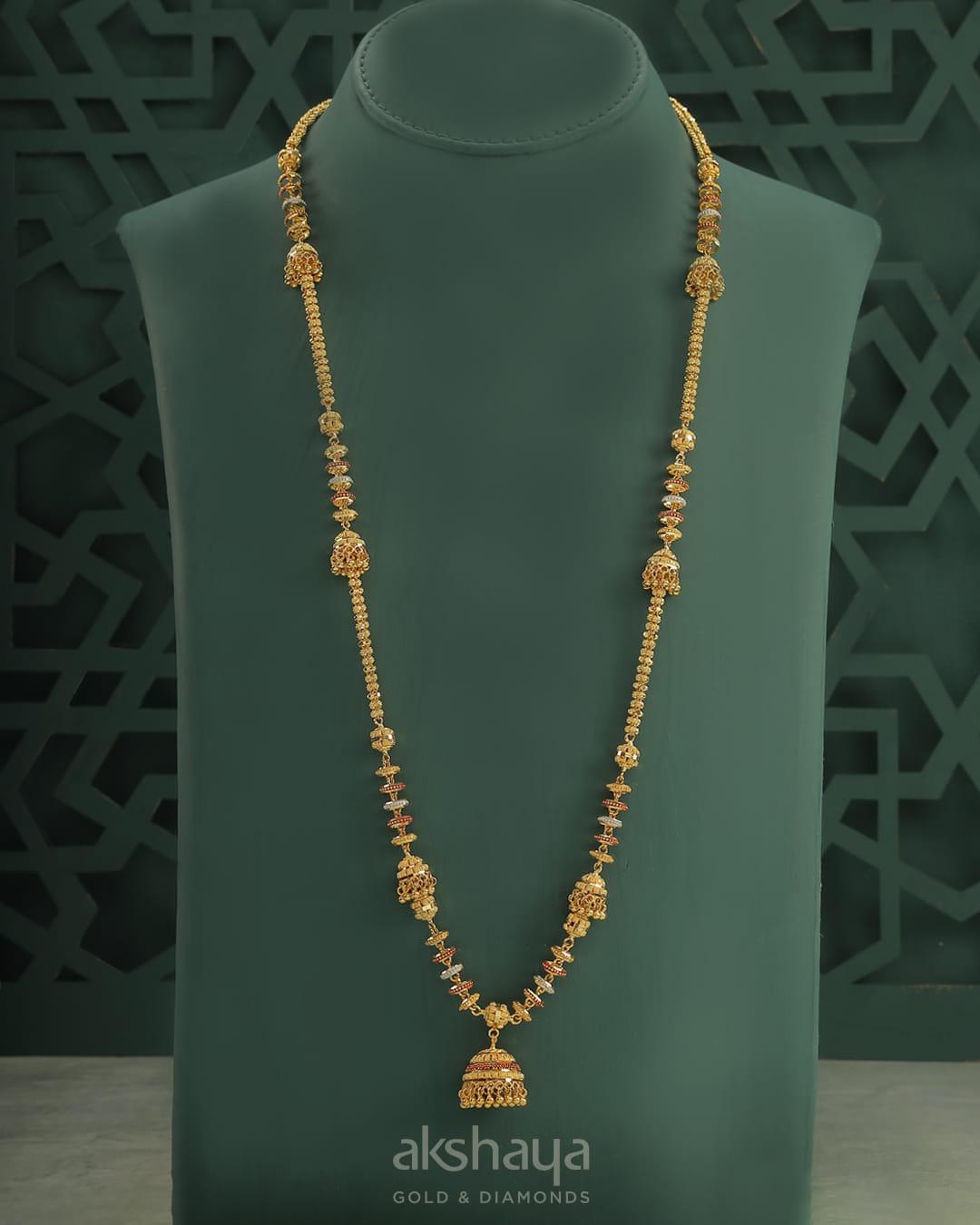 Akshaya Gold Necklace GL10248