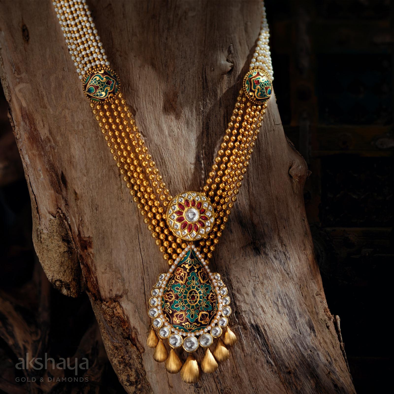 Akshaya Gold Necklace GL10261