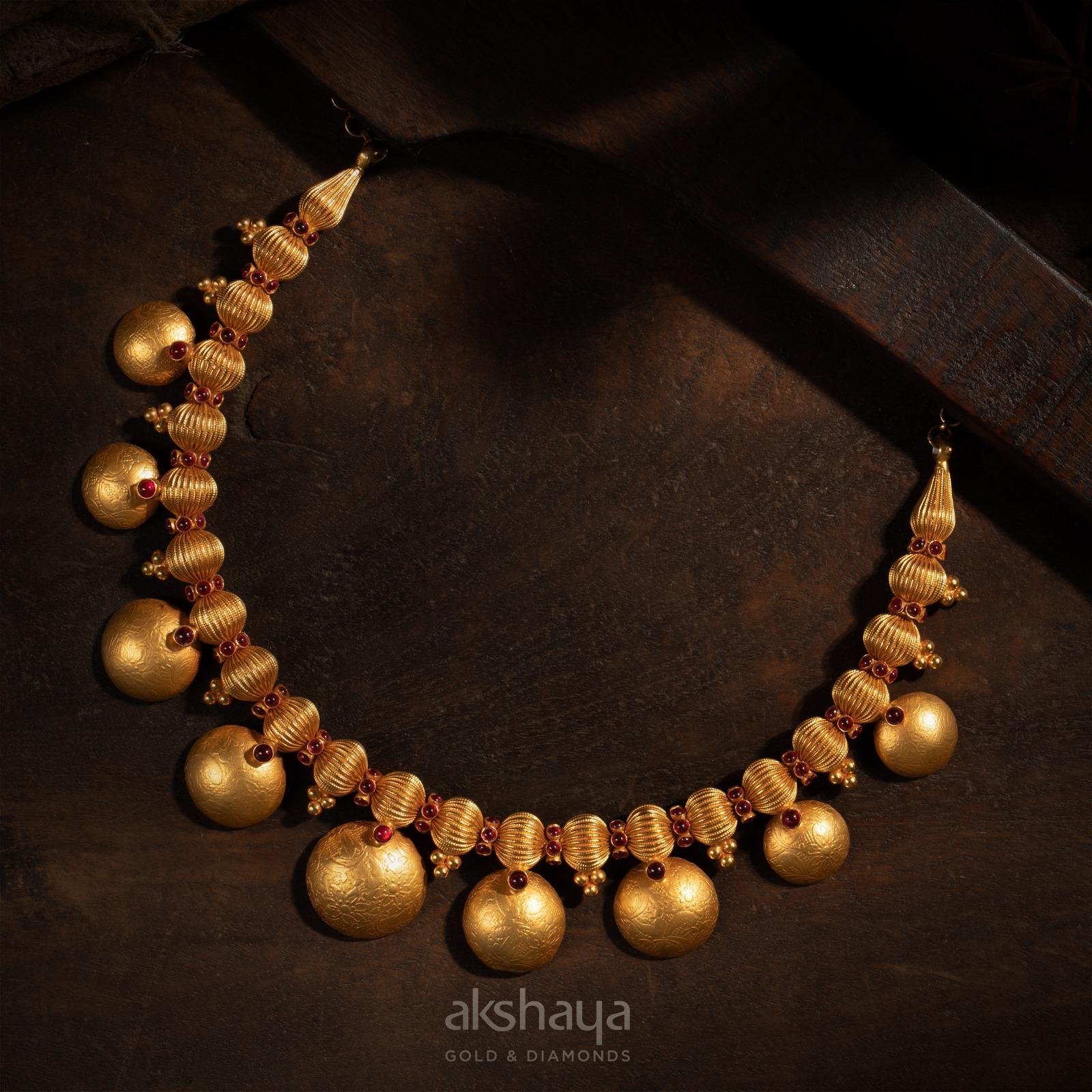 Akshaya Gold Necklace GL10262