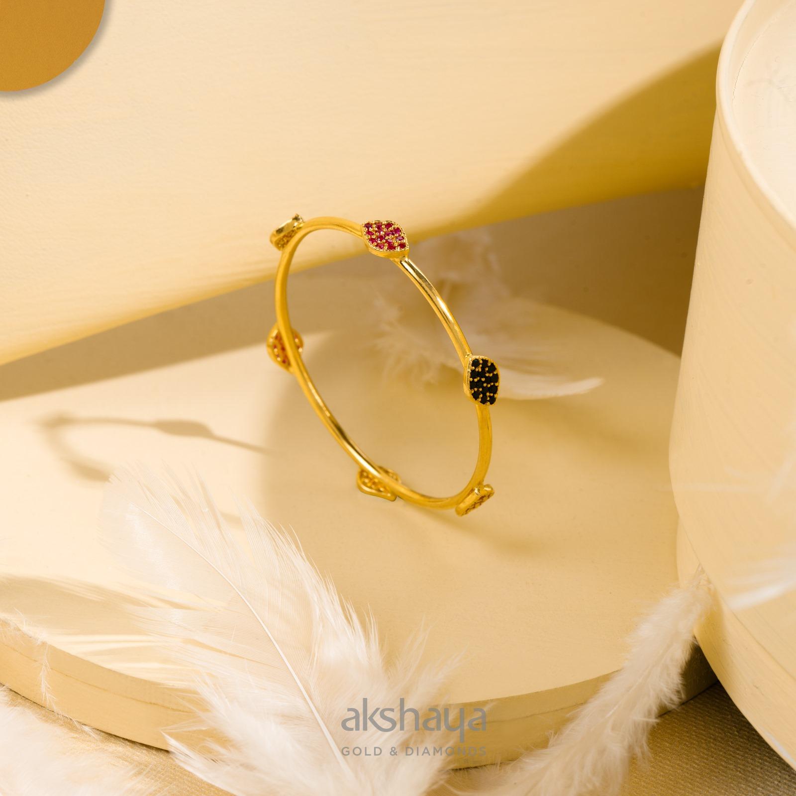 Akshaya Gold Bangle GL10328