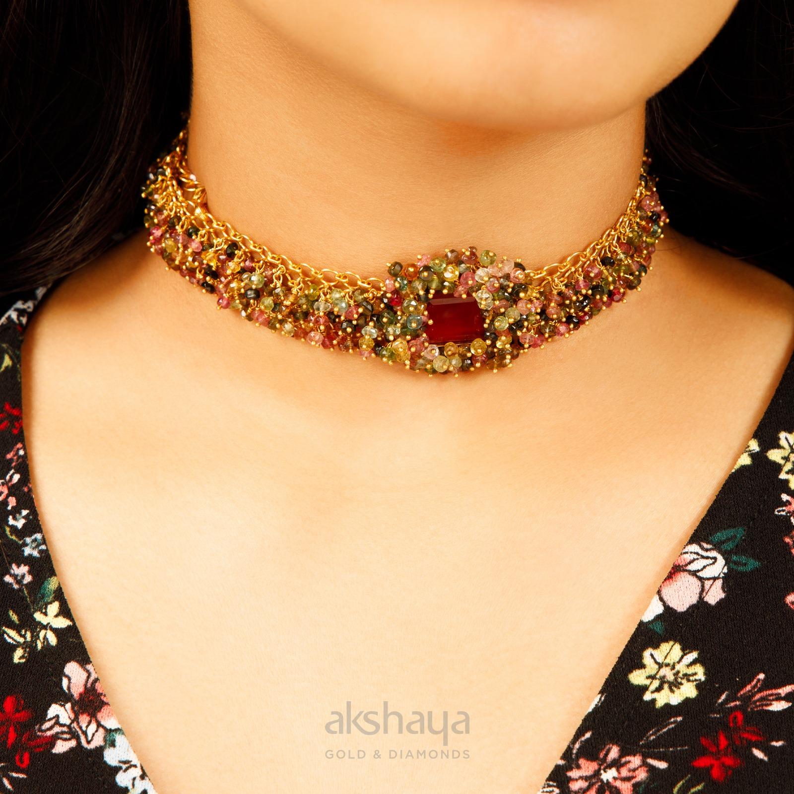 Akshaya Gold Necklace GL10270
