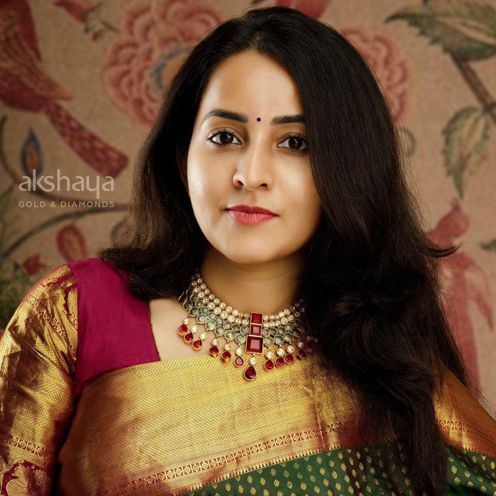Akshaya Gold Necklace GL10267