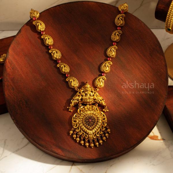 Akshaya Gold Necklace GL10272
