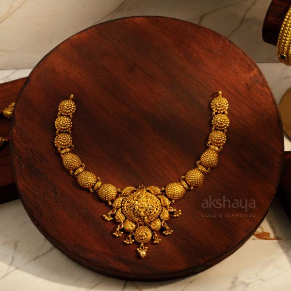 Akshaya Gold Necklace GL10273