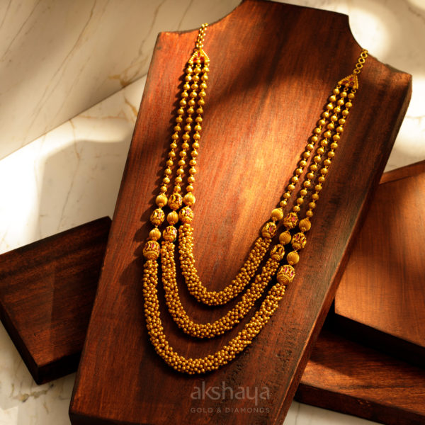 Akshaya Gold Necklace GL10271