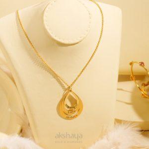 Akshaya Gold Necklace GL10274
