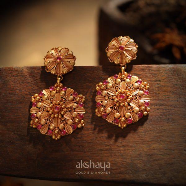 Akshaya Gold Earing GL10144