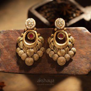 Akshaya Gold Earing GL10143