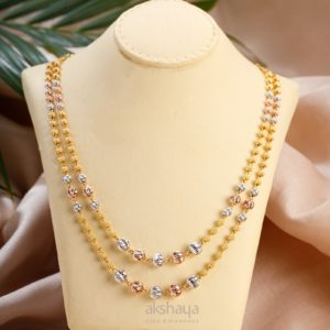Akshaya Gold Necklace GL10275