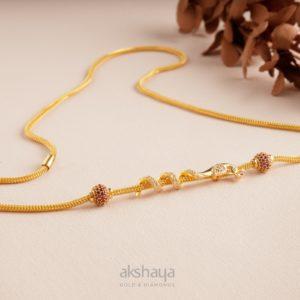 Akshaya Gold Necklace GL10276