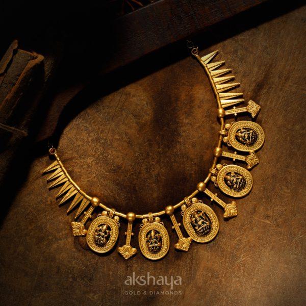 Akshaya Gold Necklace GL10251