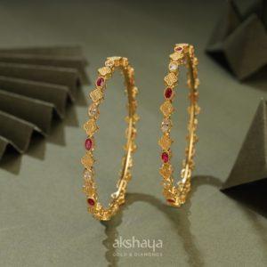 Akshaya Gold Bangle GL10331