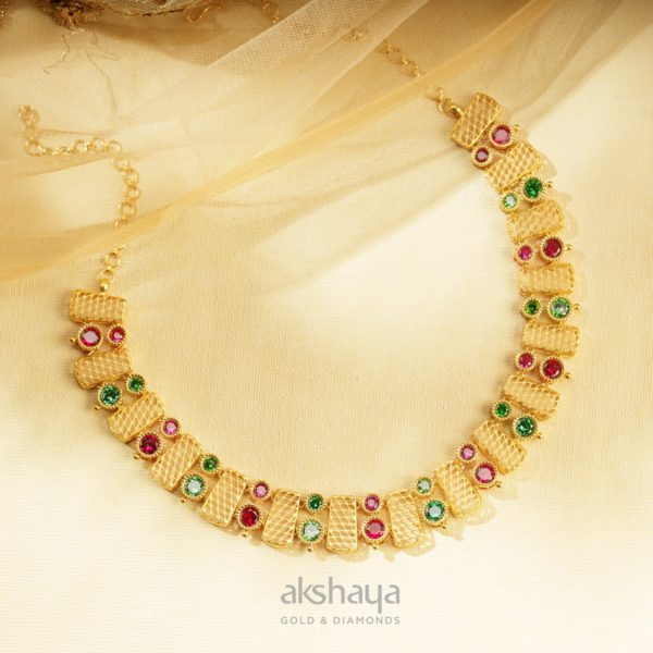 Akshaya Gold Necklace GL10279