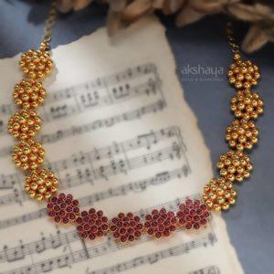 Akshaya Gold Necklace GL10253
