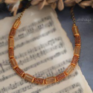 Akshaya Gold Necklace GL10254