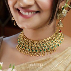 Akshaya Gold Necklace GL10282