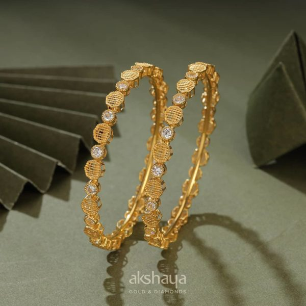 Akshaya Gold Bangle GL10332