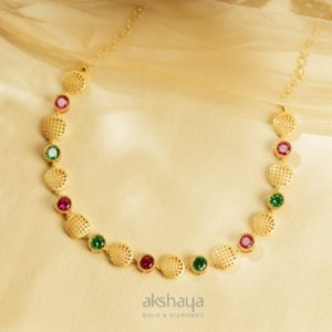 Akshaya Gold Necklace GL10280