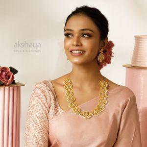 Akshaya Gold Necklace GL10278