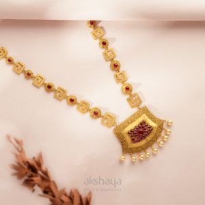Akshaya Gold Necklace GL10277