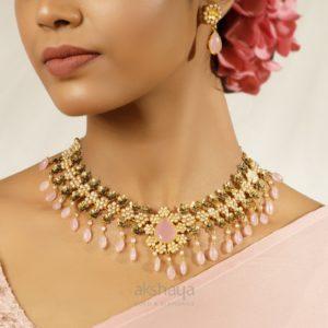 Akshaya Gold Necklace GL10281