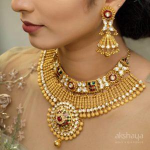 Akshaya Gold Necklace GL10283