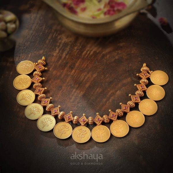 Akshaya Gold Necklace GL10286